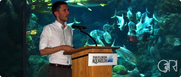 Richard Attends a Seahorse Biology Conference
